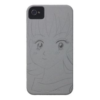 喜劇的な女の子 Case-Mate iPhone 4 ケース