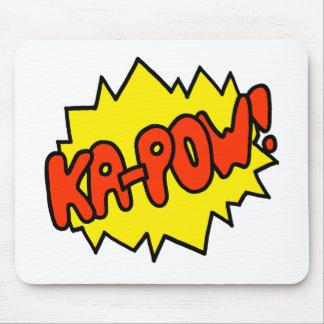 喜劇的な「Ka捕虜! 「 マウスパッド