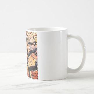 喝き切った粘土のコーヒー・マグ コーヒーマグカップ