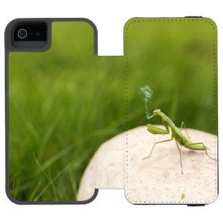 喫煙のカマキリ INCIPIO WATSON™ iPhone 5 ウォレット ケース