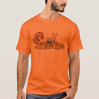 喫煙の女の子 Tシャツ