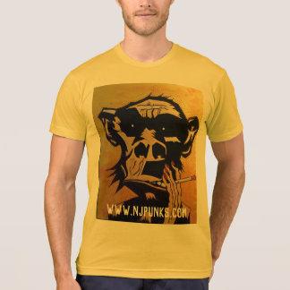 喫煙の猿のTシャツ Tシャツ