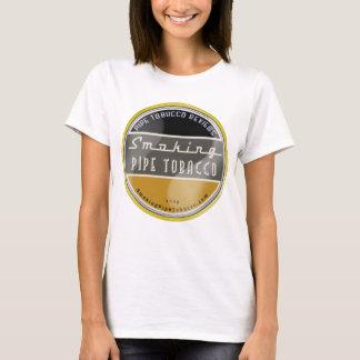 喫煙の管タバコの女性白のワイシャツ Tシャツ