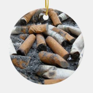 喫煙をやめて下さい! 灰皿 セラミックオーナメント