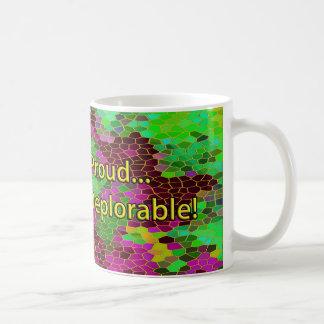 嘆かわしいがあることの嘆かわしいほどに誇りを持った! コーヒーマグカップ
