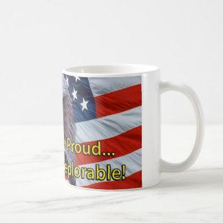 嘆かわしいがあることの誇りを持ったな嘆かわしいほどにワシ! コーヒーマグカップ
