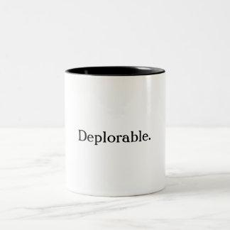 嘆かわしいコーヒー・マグ ツートーンマグカップ