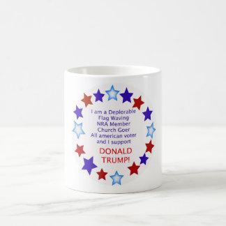 嘆かわしい切札の投票者のコップのマグ コーヒーマグカップ