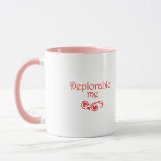 嘆かわしい私ピンクの模造のなクロム マグカップ