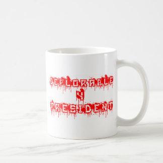嘆かわしい4大統領 コーヒーマグカップ