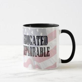 """""""嘆かわしい""""コーヒーカップを教育しました マグカップ"""