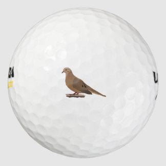 嘆くこと、愛またはカメの鳩のデジタルによって描かれる鳥 ゴルフボール