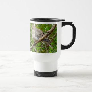 嘆く鳩の鳥のタンブラー トラベルマグ