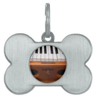 器官のキーボード ペットネームタグ