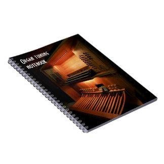 器官の調整のノート ノートブック