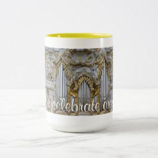器官を祝おう! Steingaden ツートーンマグカップ