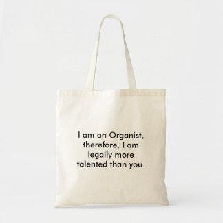 器官、私はオルガン奏者です、従って、私はlegall…です トートバッグ