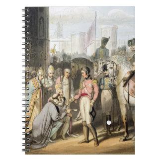 「噴出の公爵の勝利からのマドリード、 ノートブック