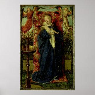 噴水のマドンナ、1439年 ポスター