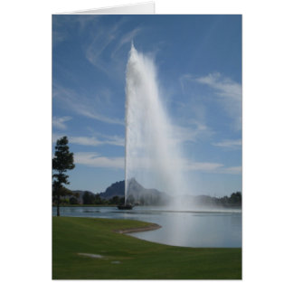 噴水の丘、アリゾナ カード