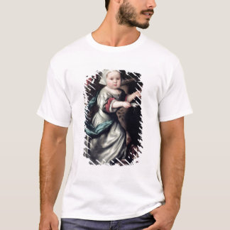 噴水の若い女の子、1662年 Tシャツ