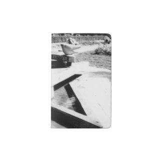 噴水 ポケットMoleskineノートブック