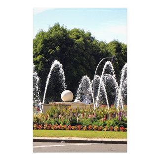 噴水、レオン、El Camino 便箋
