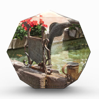 噴水、Castelrotto (Kastelruth)、イタリア 表彰盾