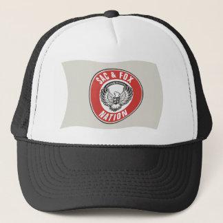 嚢及びキツネの国家(オクラホマ)の旗の帽子 キャップ