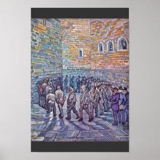 囚人の運動(Doréの後で) ポスター