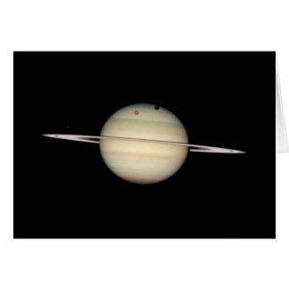 四倍の土星の月の運輸 カード