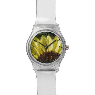 四分の三のヒマワリ 腕時計