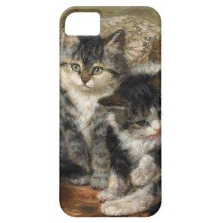 四匹の子猫 iPhone 5 ケース
