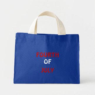 四番目に、の、7月 ミニトートバッグ