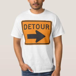 回り道の印のTシャツ! Tシャツ