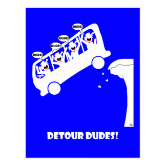 回り道DUDES-3 ポストカード