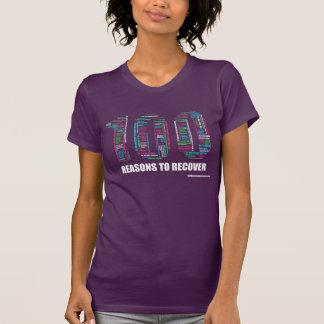 回復する100つの理由 Tシャツ