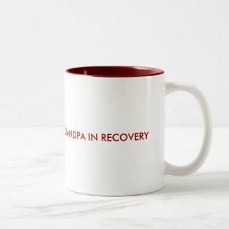 回復の祖父 ツートーンマグカップ