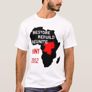 回復中央アフリカ Tシャツ