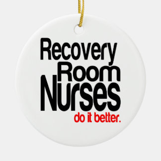 回復室のナースそれはよくします セラミックオーナメント