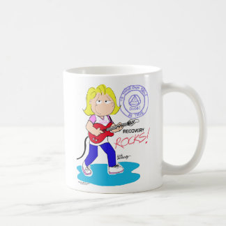 回復石-女性マグ コーヒーマグカップ