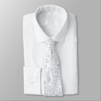 回路部品の夜会服 オリジナルネクタイ