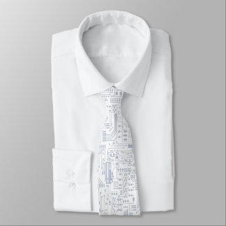 回路部品の夜会服 ネクタイ