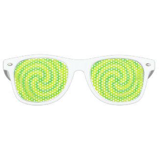 回転のサングラス レトロサングラス