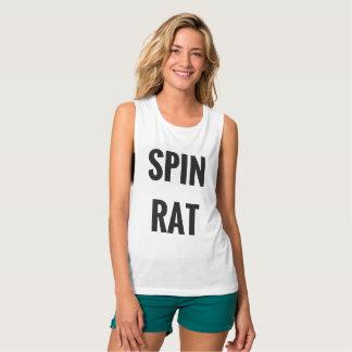 回転のラット-筋肉ワイシャツ タンクトップ