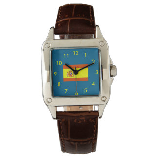 回転の旗の女性習慣の腕時計 腕時計