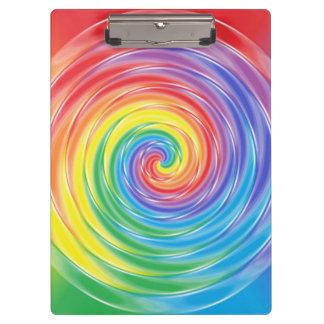 回転の虹のクリップボード クリップボード