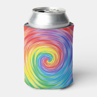 回転の虹 缶クーラー