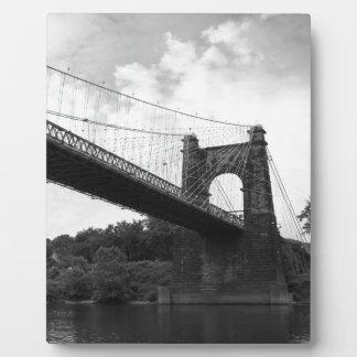 回転吊り橋B&W 2 フォトプラーク