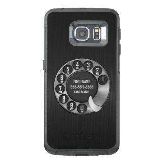回転式のダイヤルの電話 オッターボックスSamsung GALAXY S6 EDGEケース